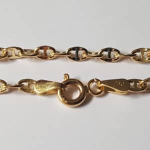 Bracelet  Marine 18 cm 2.6 mm or jaune 18k