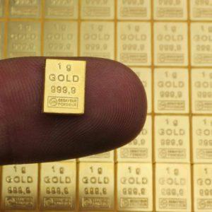 Lingot d'Or 999.9% – 1 Gramme d'or pur 24k D'investissement