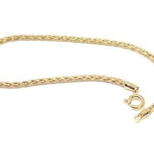 Bracelet Palmier 1.9 mm 18 cm or jaune 18k