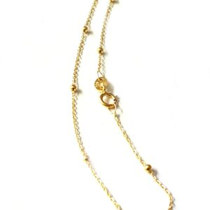 Bracelet  Boules 18 cm, Or jaune 18k