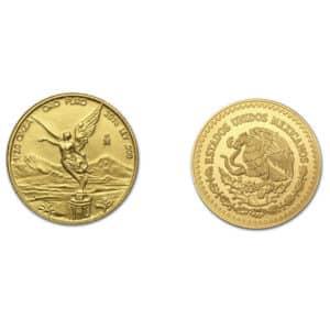 Pièce en or 1/20 oz libertad  Titre : 999,9/1000 Mexique 2018