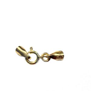 4 Fermoirs  Or jaune massif 750% 18k Pour Création Collier & Bracelet